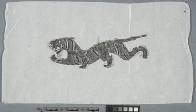Rubbing: tiger