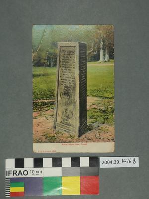 Postcard: Rufous Stone