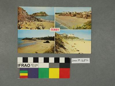 Postcard: Tenby