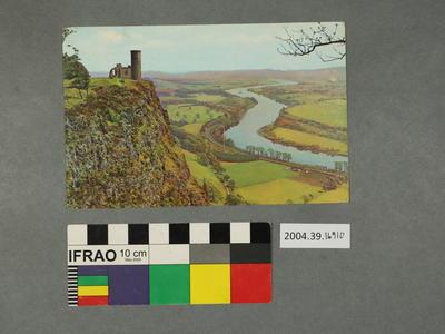 Postcard: Hilltop ruins