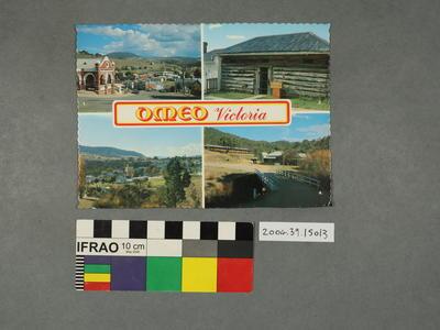 Postcard: Omeo