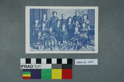 Postcard: Group of people