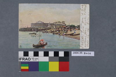 Postcard: The Clarence Pier