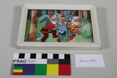 Photograph Frame: Three Dwarves