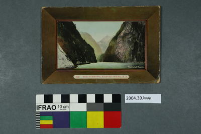 Postcard: The Narrows, Milford Sound