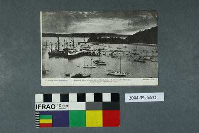 Postcard: Regatta Day, Cowes Bay, Waiheke