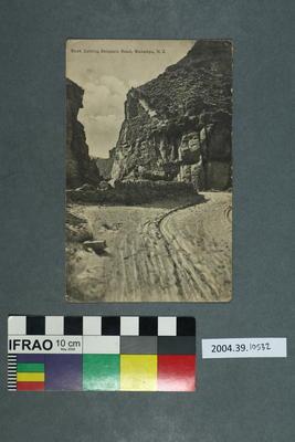 Postcard: Rock Cutting, Skippers Road, Wakatipu