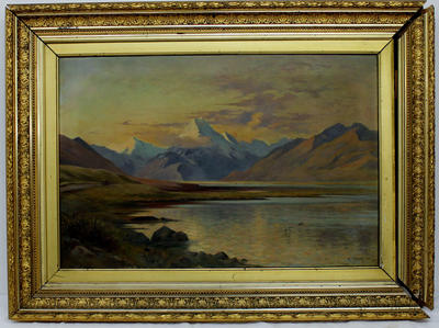 Painting: Mount Cook from Lake Pukaki