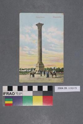 Postcard: Colonne Pompée, Alexandrie