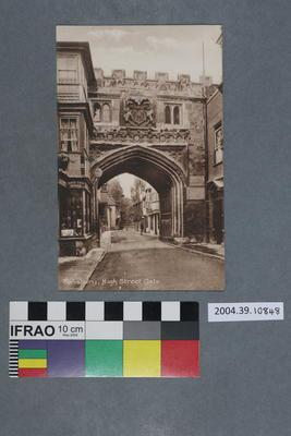 Postcard: Salisbury, High Street Gate