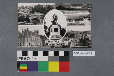 Postcard: Greetings from Tavistock