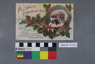 Postcard: A Joyous Christmastide