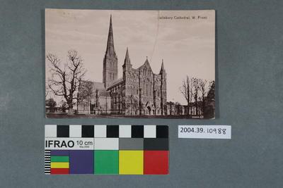 Postcard: Salisbury Cathedral
