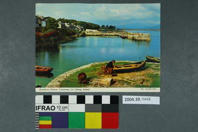 Postcard: Roundstone Harbour