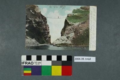 Postcard: Rope Bridge, Carrick-A-Rede