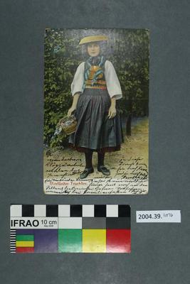 Postcard: Vierländer Trachten