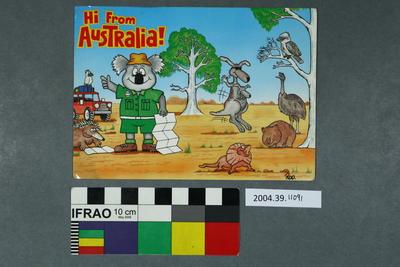 Postcard: Hi From Australia!