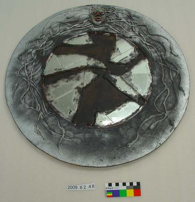 Theatrical Prop: Medusa's Mirror Shield