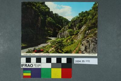 Postcard: Cheddar Gorge, Avon