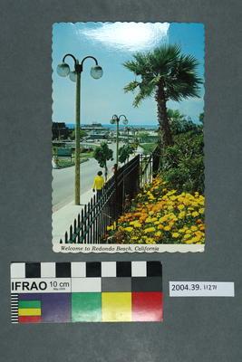 Postcard: Welcome to Redondo Beach, California