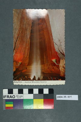 Postcard: Ruby Falls