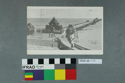 Postcard: The Pier, Skegness