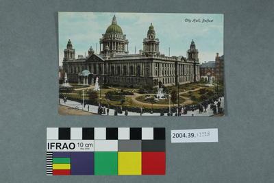 Postcard: City Hall, Belfast