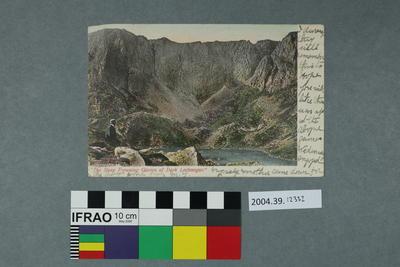 Postcard: The Steep Frowning Glories of Dark Lochnagar