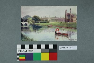 Postcard: King's College Chapel