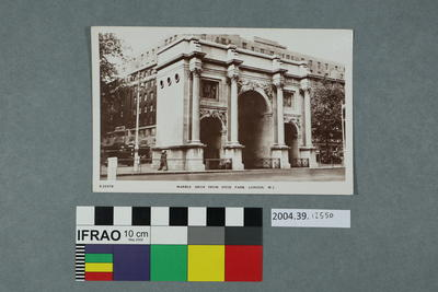 Postcard: Marble Arch