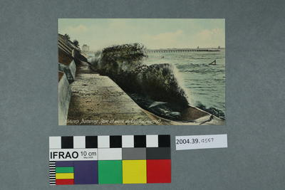 Postcard: Nature's Battering Ram at work