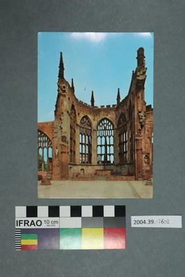 Postcard: Church ruins
