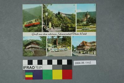 Postcard: Gruß aus dem schönen Schwarzatal/Thür. Wald