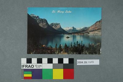 Postcard: St. Mary Lake