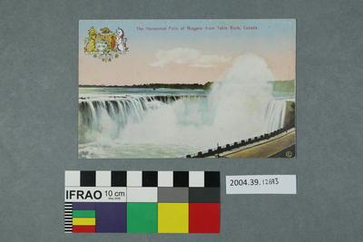 Postcard: The Horseshoe Falls of Niagara