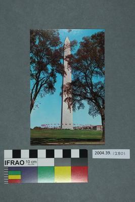 Postcard: Monument