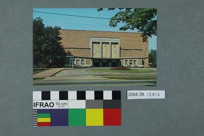 Postcard: Music Hall