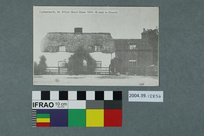 Postcard: Cumberworth, Nr. Alford