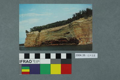 Postcard of Pictured Rocks