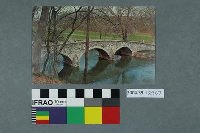 Postcard of the Burnside Bridge