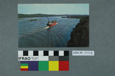 Postcard of the Hudson River