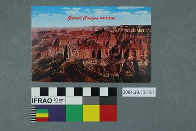 Postcard: Grand Canyon