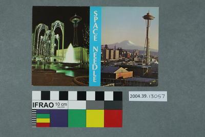 Postcard: Space Needle