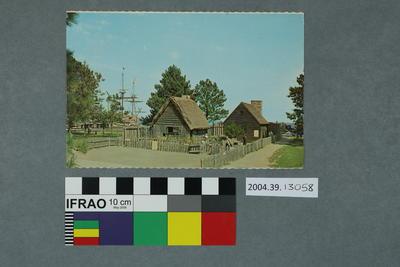 Postcard of Plymouth, Massachusetts