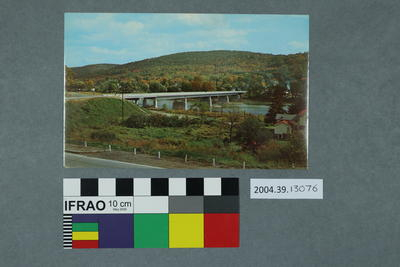 Postcard of a bridge