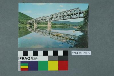 Postcard of Hunter Bridge