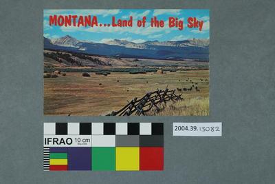 Postcard: Montana
