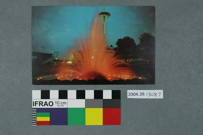 Postcard of the International Fountain