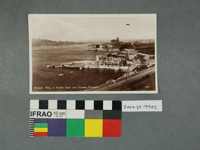 Postcard: Bathing Pool and Tinside from the Citadel, Plymouth