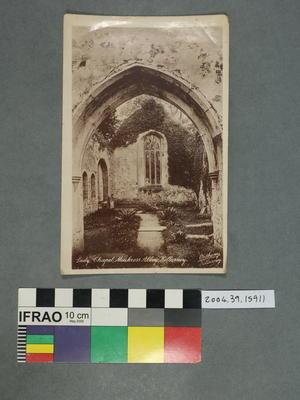Postcard: Lady Chapel, Muckross Abbey, Killarney